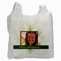 Xmas By Joely   Recycle Bag (two Side)   Nev4v7aiez3h   Www Artscow Com Front