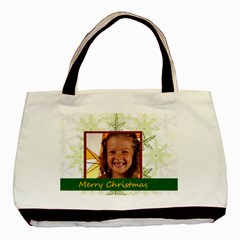 Xmas By Joely   Basic Tote Bag (two Sides)   Rqpkd65qjedk   Www Artscow Com Front