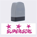 supergirl - Rubber stamp - Name Stamp
