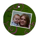 Kaycee & Kendall - Ornament (Round)