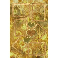 I Heart You Moon Gold Interior Love Personal Notebook By Ellan   5 5  X 8 5  Notebook   Vo55h2gwc3nd   Www Artscow Com Back Cover Inside