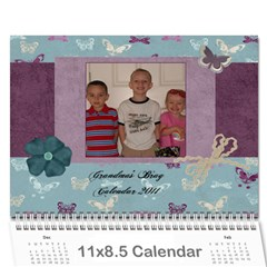 Calander By Janelle   Wall Calendar 11  X 8 5  (12 Months)   Pgjgdghf9c1f   Www Artscow Com Cover