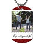 Express yourself! Dog Tag - Dog Tag (Two Sides)