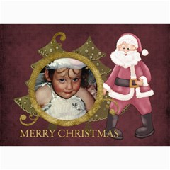 Christmas 7x5 Lil1 By Lillyskite   5  X 7  Photo Cards   Fppj50zm7h81   Www Artscow Com 7 x5 Photo Card - 5