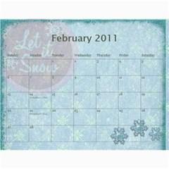 Kathy s Calendar By Linda Ward   Wall Calendar 11  X 8 5  (12 Months)   Pmz8h85631vz   Www Artscow Com Feb 2011