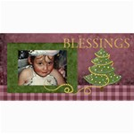 Christmas2 8x4 -lil - 4  x 8  Photo Cards