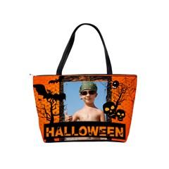 Halloween By Joely   Classic Shoulder Handbag   Wmh09995v9ag   Www Artscow Com Back