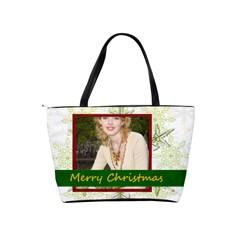 Xmas By Joely   Classic Shoulder Handbag   B3oj1opj3il6   Www Artscow Com Back