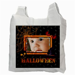 Halloween By Joely   Recycle Bag (two Side)   Ehinpc3anc55   Www Artscow Com Back