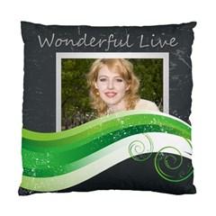 Wonderful By Joely   Standard Cushion Case (two Sides)   Rccolraohfg5   Www Artscow Com Back