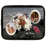 My Dream Bridal Boquet extra large netbook case - Netbook Case (XXL)