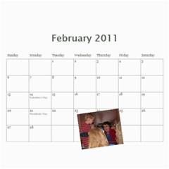 Randall Family 2011 Calendar By Julie   Wall Calendar 11  X 8 5  (12 Months)   Whymfp5oz5hu   Www Artscow Com Feb 2011