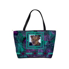 New Year Shoulder Bag2 By Joan T   Classic Shoulder Handbag   Mznupsyrfbhd   Www Artscow Com Back