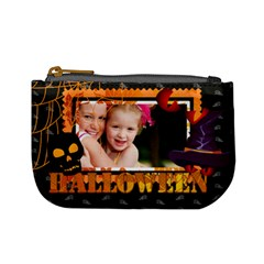 Halloween By Joely   Mini Coin Purse   Lkf8eonvnnsz   Www Artscow Com Front