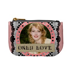 Only Love By Joely   Mini Coin Purse   Qil8jwrj7si1   Www Artscow Com Front