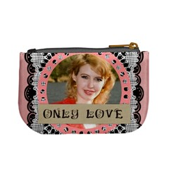 Only Love By Joely   Mini Coin Purse   Qil8jwrj7si1   Www Artscow Com Back