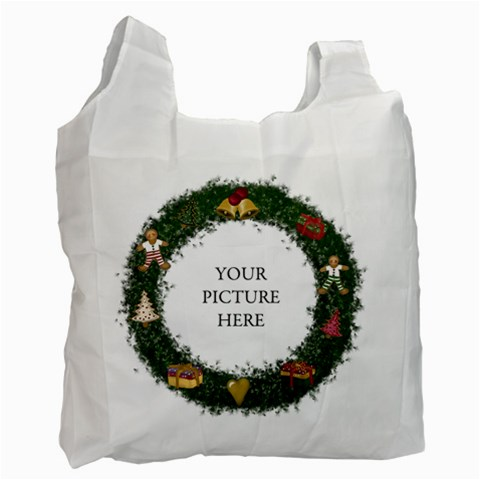 Wreathbag By Lillyskite   Recycle Bag (one Side)   Ibpl3igt15kb   Www Artscow Com Front