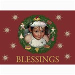 Blessings - 5  x 7  Photo Cards