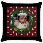 Christmas Cushion - Throw Pillow Case (Black)