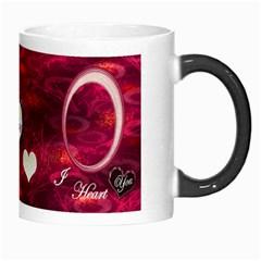 I Heart You Pink Custom Morph Mug By Ellan   Morph Mug   6dwemcvy0qee   Www Artscow Com Right