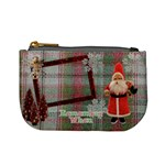 Stocking Stuffer Remember When Santa Merry Christmas mini coin purse