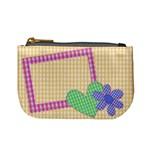VICHY YELLOW - Mini coin purse