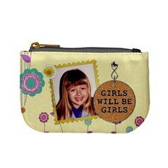 Girls Will Be Girls Mini Coin Purse By Lil    Mini Coin Purse   Gpr038tif97s   Www Artscow Com Front