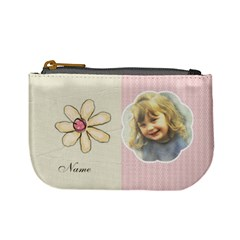 Flower Purse By Lillyskite   Mini Coin Purse   V6pbut114bvb   Www Artscow Com Front