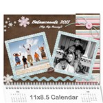 betancourt 2011 Calendar - Wall Calendar 11  x 8.5  (12-Months)