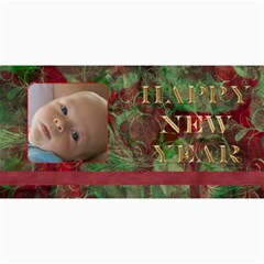 New Year 4x8 Card 1 By Joan T   4  X 8  Photo Cards   4a8qhe7hb1dc   Www Artscow Com 8 x4 Photo Card - 4