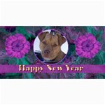 New Year 4x8 Card 2 - 4  x 8  Photo Cards