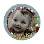 Aidan ordament  10 - Ornament (Round)