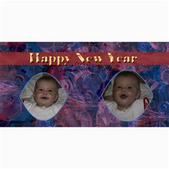 New Year 4x8 Card 5 By Joan T   4  X 8  Photo Cards   F7qruz3enryx   Www Artscow Com 8 x4 Photo Card - 1