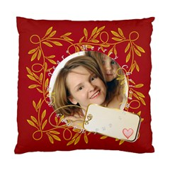 Christmas By Wood Johnson   Standard Cushion Case (two Sides)   Xd5tb6ul1hvd   Www Artscow Com Back