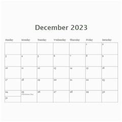 2015 Black & White 12 Month Calendar By Klh   Wall Calendar 11  X 8 5  (12 Months)   5k1qjav2p8wa   Www Artscow Com Dec 2015