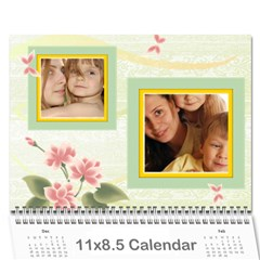 Kids By Wood Johnson   Wall Calendar 11  X 8 5  (12 Months)   M2n90dsna699   Www Artscow Com Cover