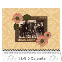 Heritage 12 Month Calendar By Klh   Wall Calendar 11  X 8 5  (12 Months)   9nnwf7v8scnn   Www Artscow Com Cover