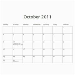 2011 Calendar   Draft 2 By Carol Chan   Wall Calendar 11  X 8 5  (12 Months)   Zvropo2o5bxd   Www Artscow Com Oct 2011