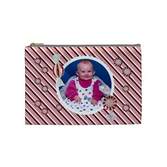 Candy Cane 1 By Snackpackgu   Cosmetic Bag (medium)   8nb7y5txqkla   Www Artscow Com Front