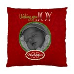 Wishing You Joy Cushion Case (2 sided) - Standard Cushion Case (Two Sides)