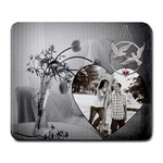 Love Birds Mousepad - Large Mousepad