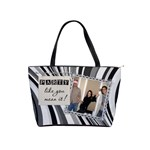 Party & Live Like You Mean It Shoulder Handbag - Classic Shoulder Handbag