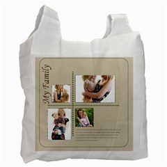 Family By Joely   Recycle Bag (two Side)   03um41o9d3rr   Www Artscow Com Front