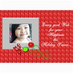 7x5 Christmas greeting cards - 5  x 7  Photo Cards