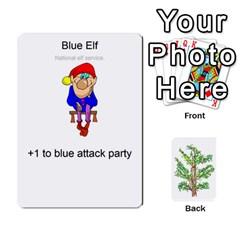 Jack Elfdefense Cards 1 0 By Stephen Tavener   Playing Cards 54 Designs   Wja7rq8rdbjh   Www Artscow Com Front - SpadeJ
