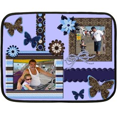 Blanket By Raeanne   Double Sided Fleece Blanket (mini)   0efphj84wpya   Www Artscow Com 35 x27 Blanket Back