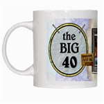 40th Birthday Mug - White Mug