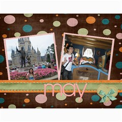 2011 Gift To Chia Hua By Yi Chi Lin   Wall Calendar 11  X 8 5  (12 Months)   9sm04r03ye5n   Www Artscow Com Month