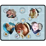 Baby Boy Medium Fleece Blanket - Fleece Blanket (Medium)