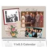 2011 Family Calendar - Wall Calendar 11  x 8.5  (12-Months)